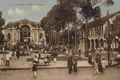 Boulevard Bonnard, Saigon, Cochinchina--Photographic Print