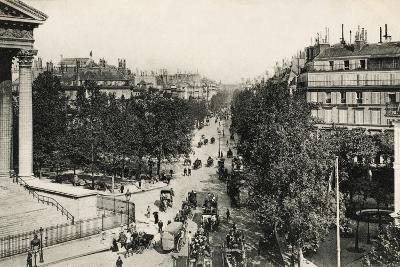 Boulevard De La Madeleine, 1900--Photographic Print