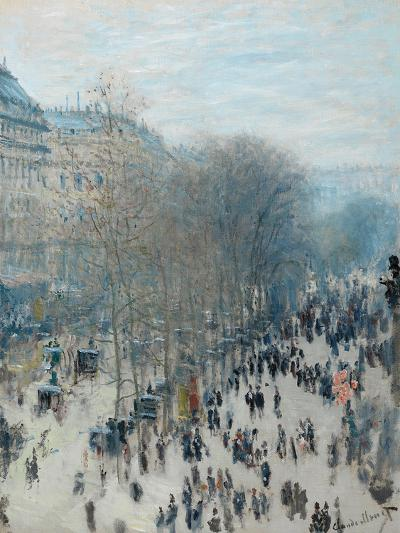 Boulevard Des Capucines, 1873-4-Claude Monet-Giclee Print