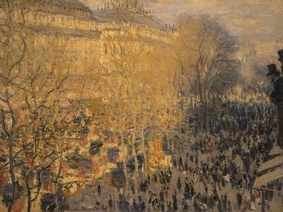 Boulevard Des Capucines, 1873-Claude Monet-Giclee Print