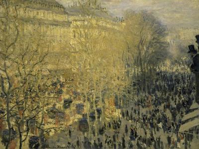 Boulevard Des Capucines-Claude Monet-Giclee Print