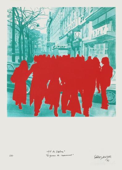 Boulevard Des ItaIIens : La Jeunesse En Mouvement-G?rard Fromanger-Limited Edition
