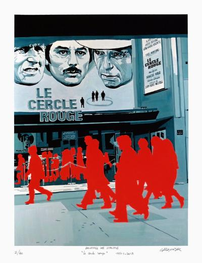 Boulevard des Italiens : le Cercle Rouge-G?rard Fromanger-Limited Edition