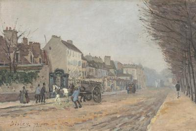 Boulevard Héloïse, Argenteuil, 1872-Alfred Sisley-Giclee Print