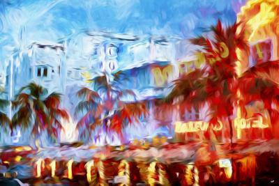 Boulevard Hotel - In the Style of Oil Painting-Philippe Hugonnard-Giclee Print