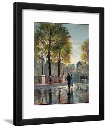 Boulevard Walk-Brent Heighton-Framed Art Print