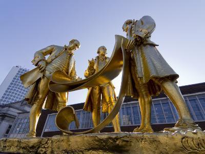 Boulton Statue, Birmingham, Midlands, England, United Kingdom, Europe-Charles Bowman-Photographic Print