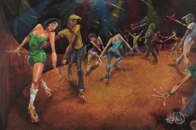 Bounce, Rock, Skate!-David Garibaldi-Art Print