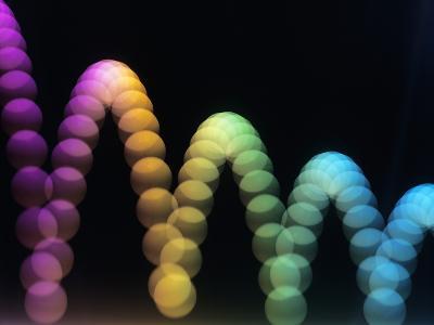 Bouncing Ball-Adam Hart-Davis-Photographic Print