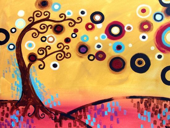 Bouncing Splendor-Natasha Wescoat-Giclee Print