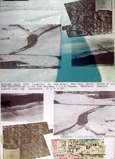 Boundary Split-Dennis Oppenheim-Limited Edition