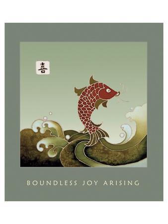 Boundless Joy Arising 1-Sybil Shane-Art Print