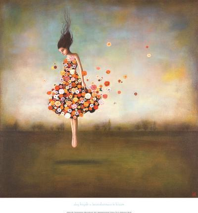 Boundlessness in Bloom-Duy Huynh-Framed Print Mount