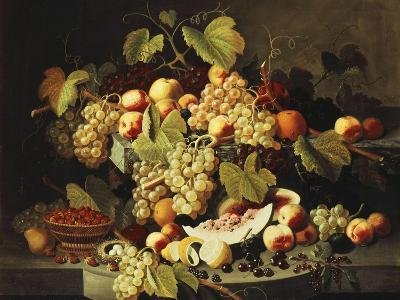 Bountiful Harvest-Severin Roesen-Giclee Print