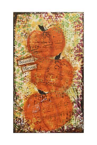 Bountiful Harvest-Cassandra Cushman-Art Print