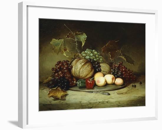 Bountiful Still Life-Hugh Newell-Framed Giclee Print