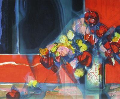 Bouquet de fleurs II-Jean-Baptiste Valadie-Premium Edition