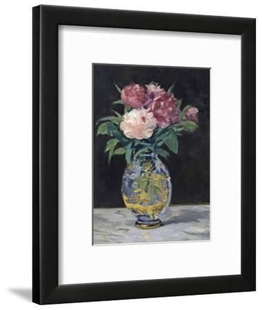 Bouquet de Pivoines, 1882-Edouard Manet-Framed Premium Giclee Print