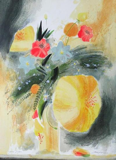 Bouquet de Printemps-Jean-claude Bligny-Limited Edition