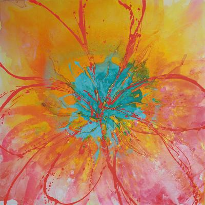 Bouquet I-Caroline Ashwood-Giclee Print