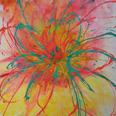 Bouquet II-Caroline Ashwood-Giclee Print