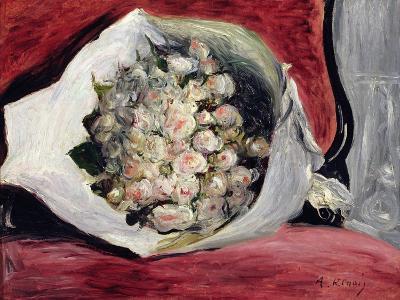 Bouquet in a Theatre Box, C.1878-80-Pierre-Auguste Renoir-Giclee Print