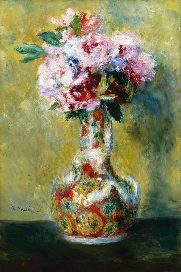 Bouquet in a Vase-Pierre-Auguste Renoir-Giclee Print