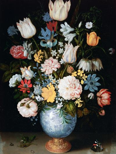 Bouquet of Flowers, 1609-Ambrosius Bosschaert the Elder-Giclee Print