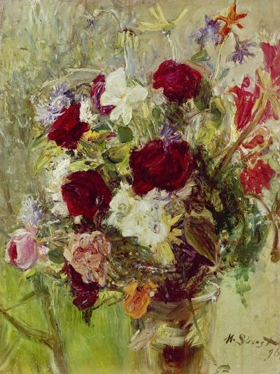 Bouquet of Flowers, 1896-Max Slevogt-Giclee Print