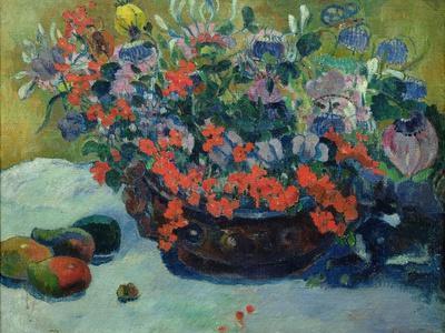 Bouquet of Flowers, 1897-Paul Gauguin-Premium Giclee Print