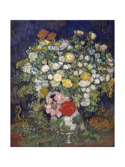Bouquet of Flowers in a Vase-Vincent van Gogh-Giclee Print