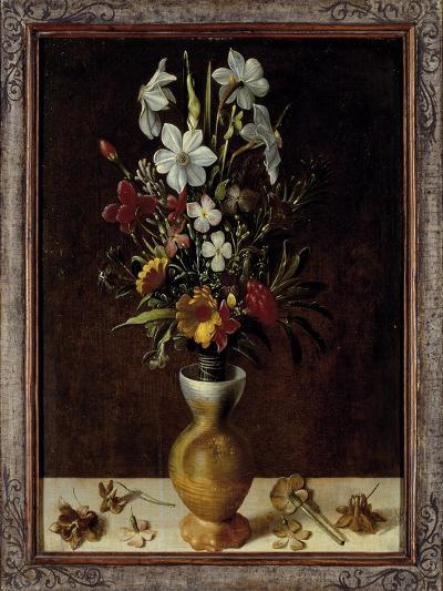 Bouquet of Flowers in a Vase-Ludger Tom Ring-Giclee Print