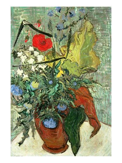 Bouquet of Wild Flowers-Vincent van Gogh-Premium Giclee Print