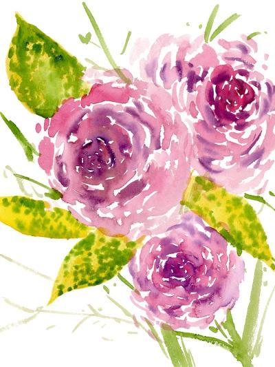 Bouquet Rose I-Melissa Wang-Art Print