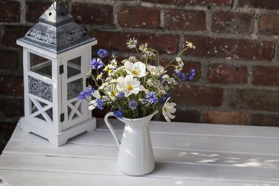 Bouquet, Summer Flowers, Lantern-Andrea Haase-Photographic Print