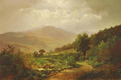 Bouquet Valley in the Adirondacks-William Trost Richards-Giclee Print