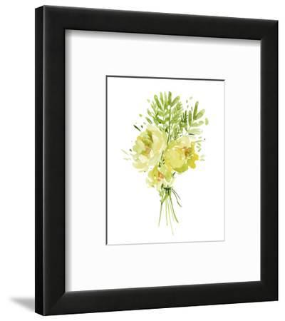 Bouquet with Peony I-Melissa Wang-Framed Art Print