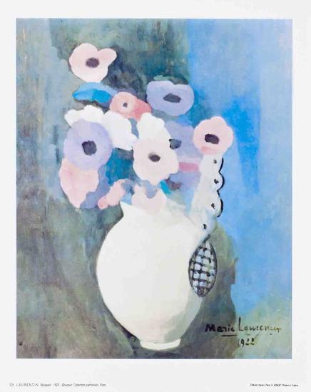 Bouquet-Marie Laurencin-Art Print