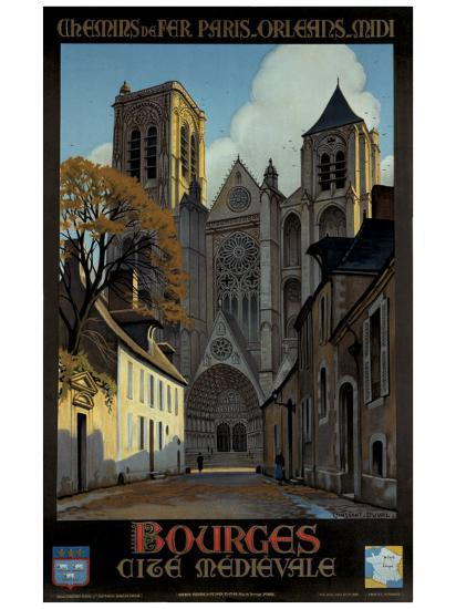 Bourges-Constant Leon Duval-Giclee Print