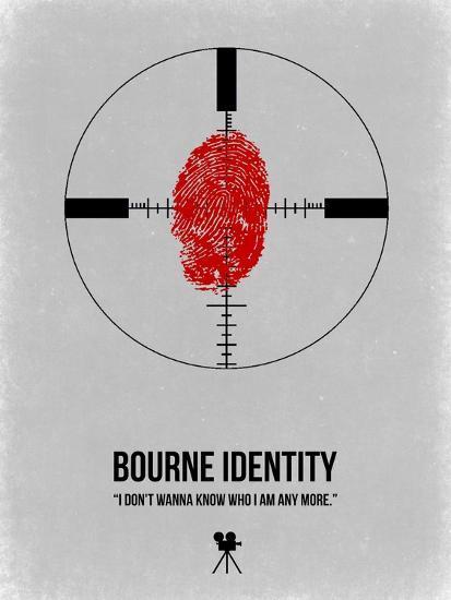 Bourne Identity-NaxArt-Art Print