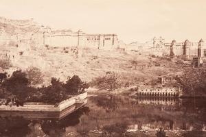 View of Amber Fort, 1871 by Bourne & Shepherd
