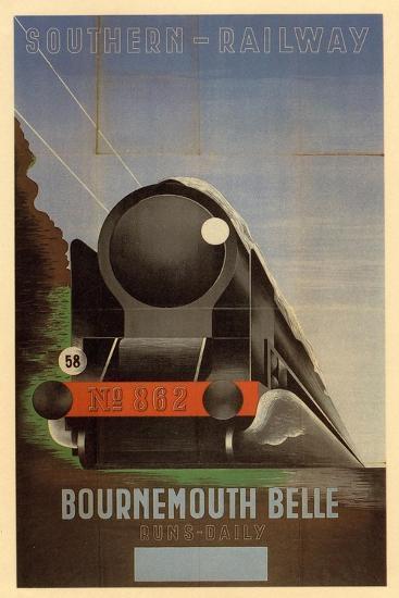 Bournemouth Belle--Art Print