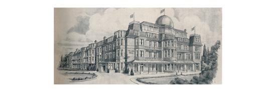 'Bournemouth's Premier Guest House - Tollard Royal Hotel', 1929-Unknown-Giclee Print