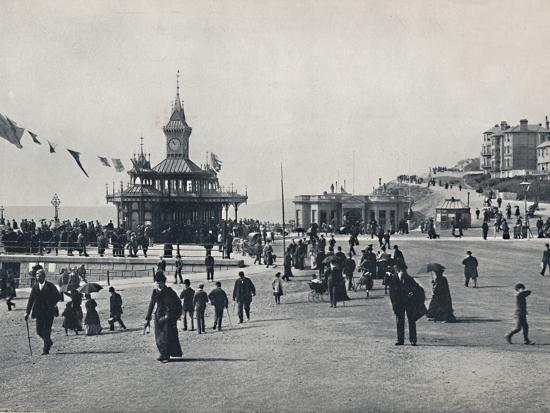 'Bournemouth - The Pier Approach', 1895-Unknown-Photographic Print