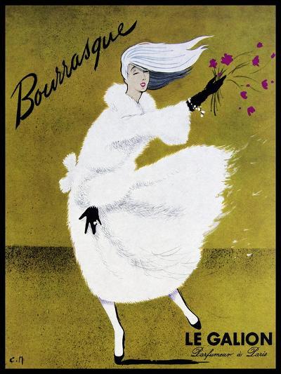 Bourrasque Eau Le Galion-Vintage Lavoie-Giclee Print