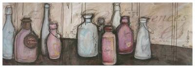Bouteilles et Essence-Alexandra Breda-Art Print