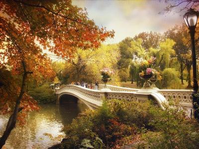 Bow Bridge Crossing-Jessica Jenney-Giclee Print