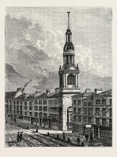 Bow Church Cheapside. from a View Taken About 1750, London--Giclee Print