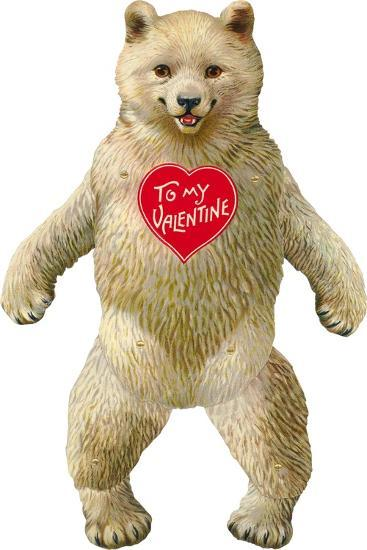 Bow-Legged Polar Bear--Art Print
