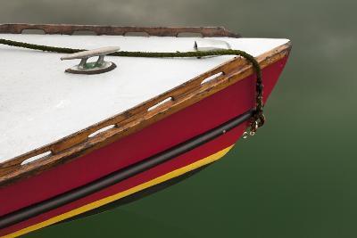 Bow of Boat at Orcas Island, Deer Harbor, Washington, USA-Jaynes Gallery-Photographic Print